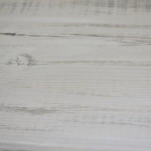 The Mari - Distressed Gray Long Pine Wood Sofa Table