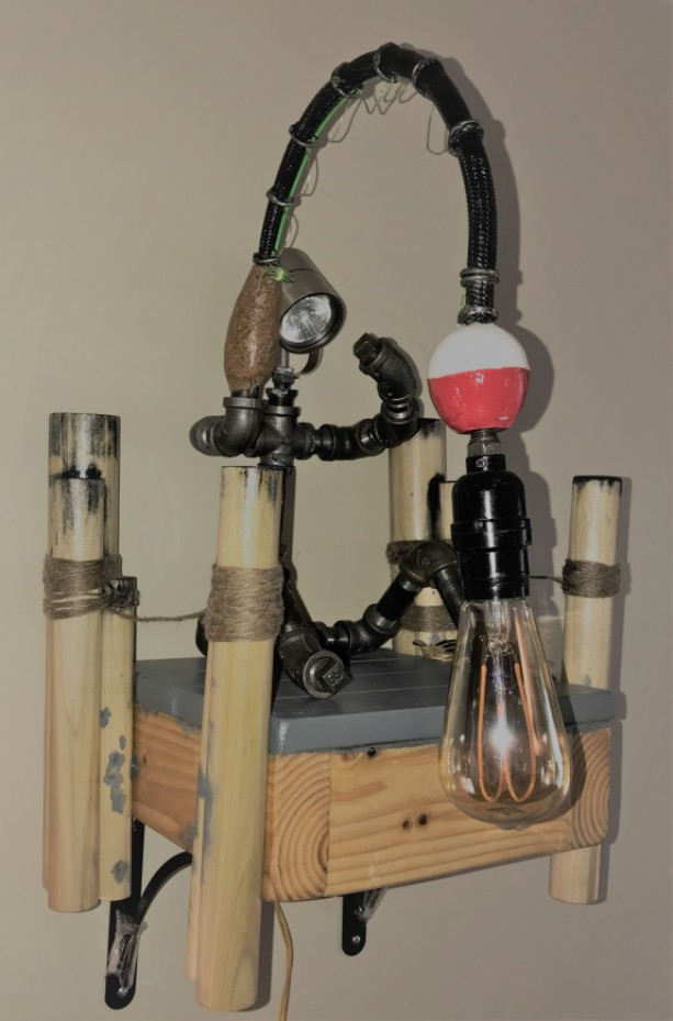 Handcrafted Fisherman Light And Dock Aftcra