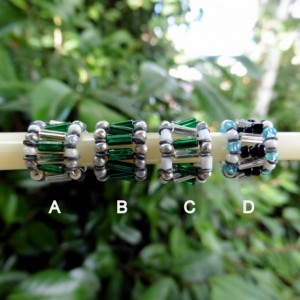 Three Beaded Doll Bracelets