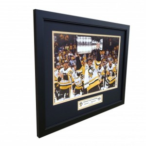Pittsburgh Penguins 2017 Stanley Cup Champions Custom Framed Picture