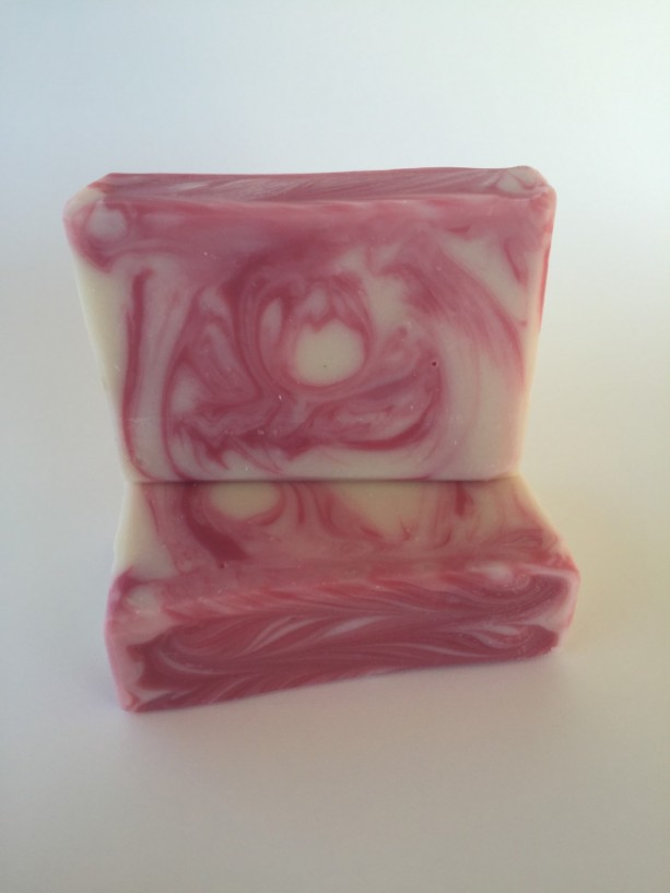 Peppermint soap handcrafted soap vegan minty soap gifts under 10 for him or her