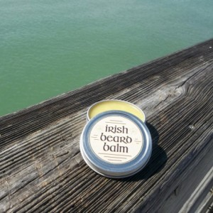 Irish beard balm Whiskey barrel 1/2  ounce sample tin