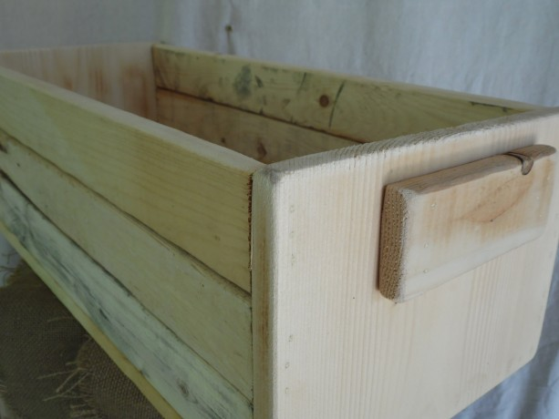 Large Wooden Crate, Wood Crate, Wooden Box, Rustic Home Decor
