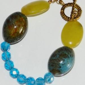 Little Big Bracelet Quartz, Porcelain Glass A10246