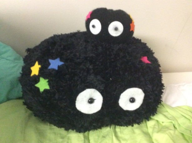 knitted soot sprite