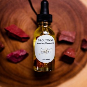 GROUNDING Morning Massage Oil