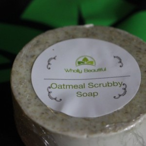 Oatmeal Scrubby Soap