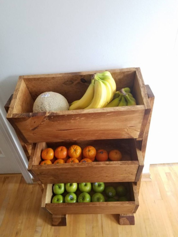 Produce Stand, Potato Onion Bin, Home Organization