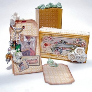 Altered Matchbox and Mini Scrapbook