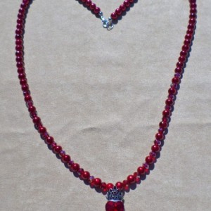 Amor sempiternus ( It means Eternal Love in Latin) necklace.