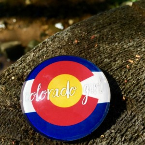 Colorado Girl Large Quote Magnet, Colorado Love, Colorado Girl, Colorado Pride, Quote Magnet, Locker, Cubicle, Office, Fridge,Magnetic Board