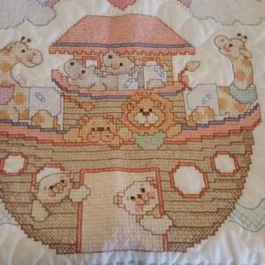 Noah's Ark Crib Quilt