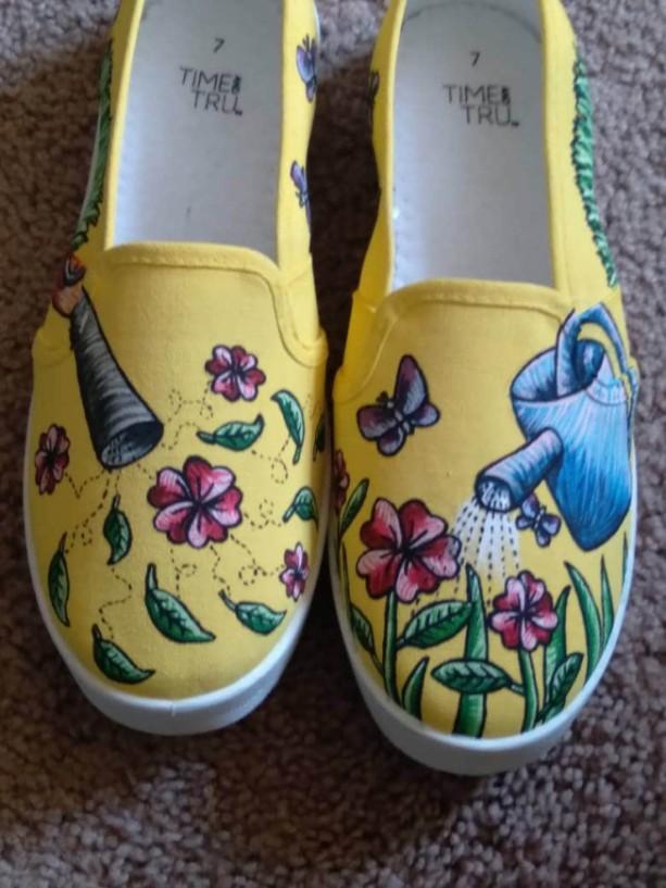 Spring Gardening Shoes