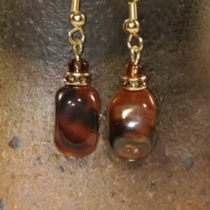 Carnelian Topaz Earrings