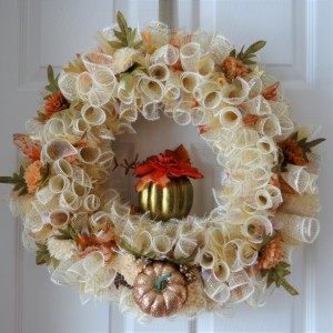 "Fall ""Goldie"" wreath"