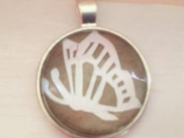 Butterfly Papercut Pendant