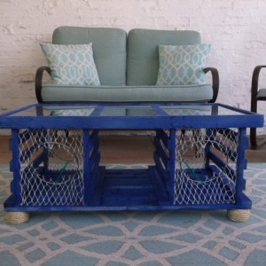 New**** The Deep Ocean Lobster Trap Coffee Table ****for the Fall of 2016***