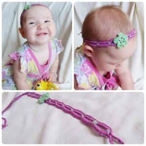 Tie-on Crochet Headband