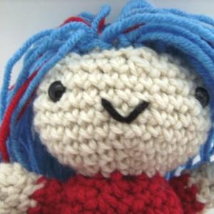 Crochet Amigurumi Plush Toy Doll