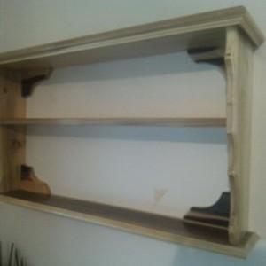 3 tier solid poplar case