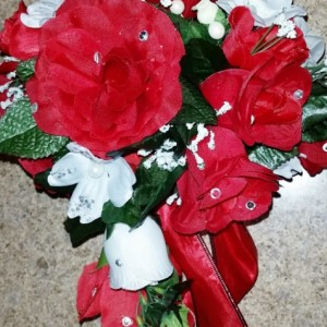"Pick Up and Go "" Silk Custom Wedding Bouquets"""