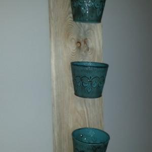 Rustic Indoor Vertical Herb Garden