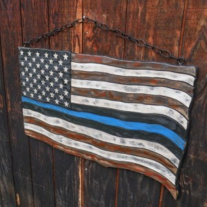 Medium American Thin Blue Line Flag
