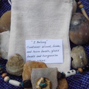 """I Belong"", Tribal Necklace"