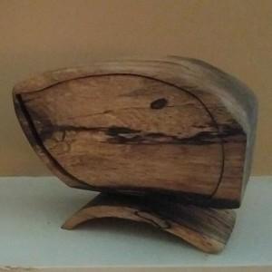 CF Hidden Treats Rustic Bandsaw Box