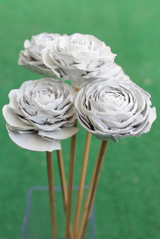 Wood Flower Bouquet