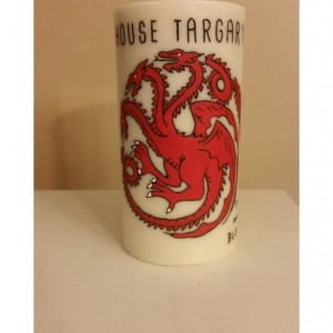 "3x6 ""House Targaryen"" Pillar Candle"