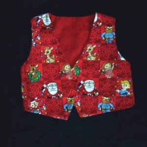 NEW Boy's Formal Vest Custom Size (any fabric you choose)
