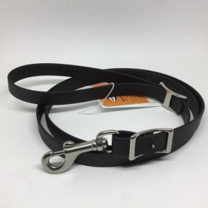 """Beta BioThane 3/4"""" Wide Dog Leash with Stainless Steel Hardware"""