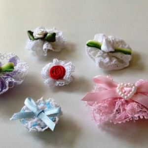 Newborn/Infant Velcro Bow Variety Set