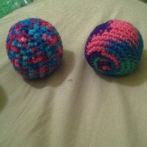 Handcrafted Hacky Sack