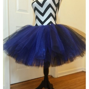Black & Blue Sparkle Tutu - Teen & Adult Sized