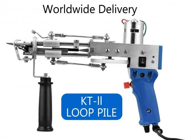 Loop Pile Tufting Gun, KT-ll Carpet Weaving Machine, Flocking Machine, Industrial Embroidery Machine, Loop Pile Knitting Machine