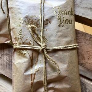 50 Rustic Wedding Favors. Elegant Handmade Wedding Favors. Gold Embossed. Unique Wedding Ideas. Fresh Roasted Coffee.