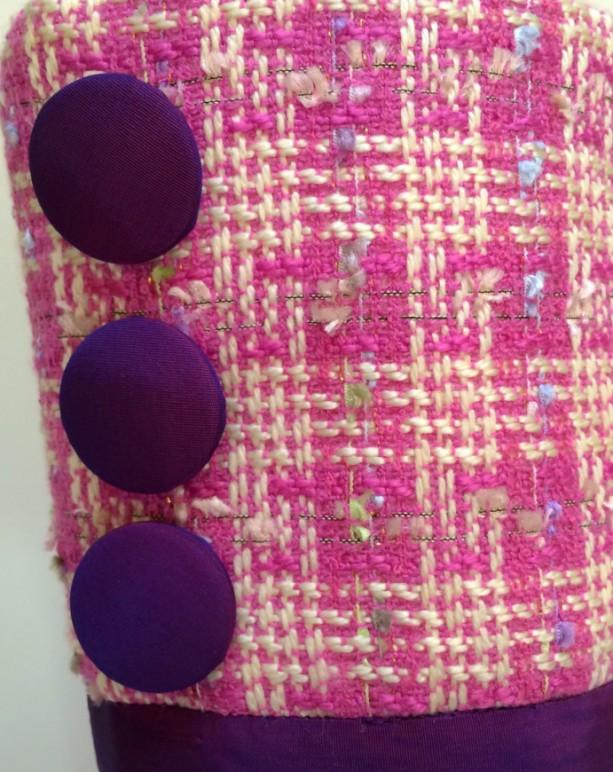 Pink Christmas Stocking | aftcra