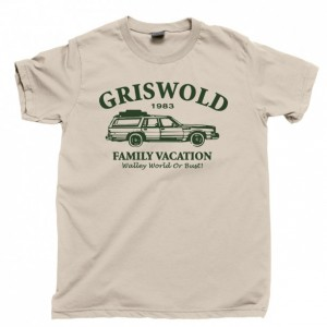Griswold Family Vacation Men's T Shirt, Walley World Or Bust National Lampoon's Vacation 1983 80s Comedy Movie Unisex Cotton Tee Shirt