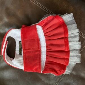 "XXS Red Stripe Tutu 13-14"" girth"