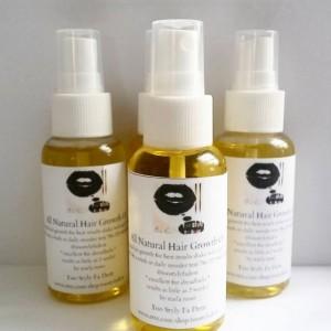 all natural hair growth oil 3 oz spray bottle 4 bottles