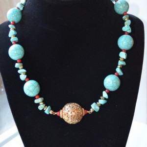 N4- Turquoise necklace