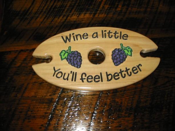 Wine Caddy - Wine a little you'll feel better