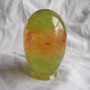 MyGlo Apple Green Sunset Magic Easter Egg Layered Colors  Glow In The Dark