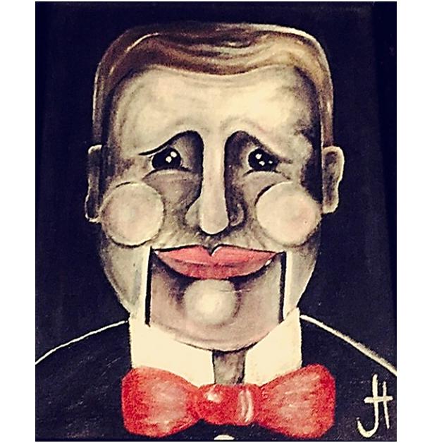 """Smile!"" Original Oil Painting"