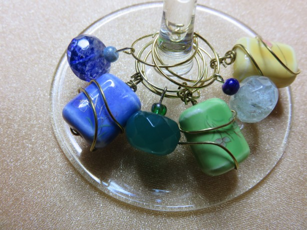 Wine Glass Charm #13