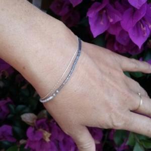 Minimalist beaded bracelet
