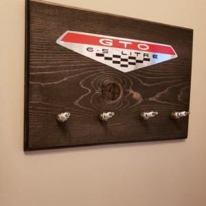 Pontiac GTO Spark Plug Sign