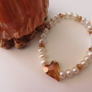 Be Still My Copper Heart Bracelet